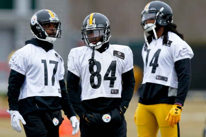Antonio Brown, Eli Rogers, Sammie Coates