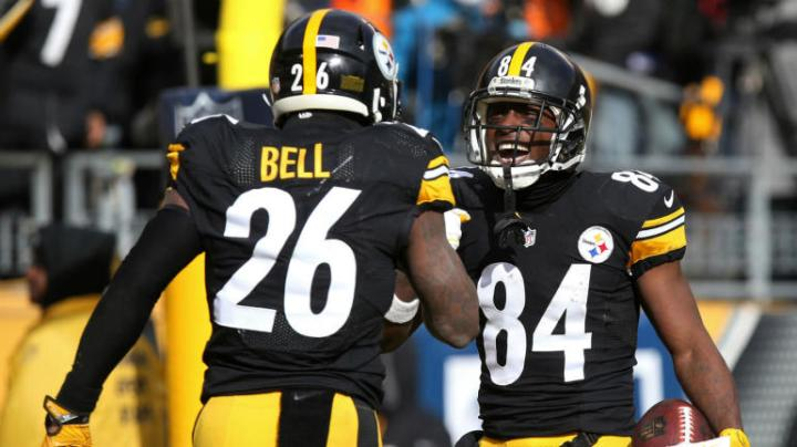 leveon-bell-antonio-brown